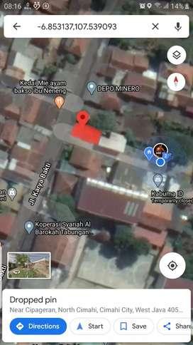 Tanah sewa untuk usaha Cipageran, Cimahi