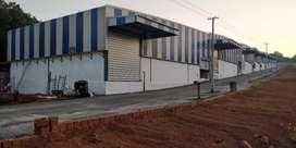 5000 Sqft (10 Units)High tech warehouse godown in Kannur Near Airport