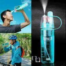 Botol Minum 600ml Dengan Spray Jet