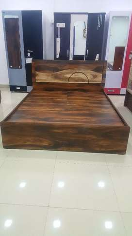 newly made huge storage double bed at wholesale rate