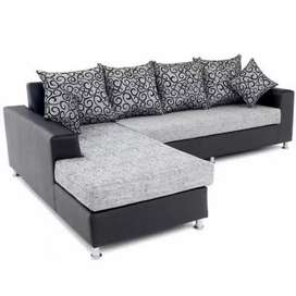 Moch Fabric Loung Sofa on Manufacturing Sale (EMI AVAILABLE)