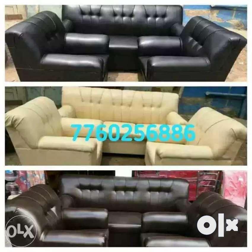 Everlasting new look art leather sofa set 0
