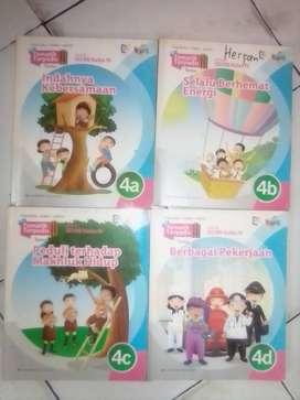 Buku tematik kelas 4 penerbit Erlangga