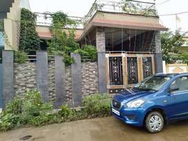 2BHDK for sale with Garden and car Parking.