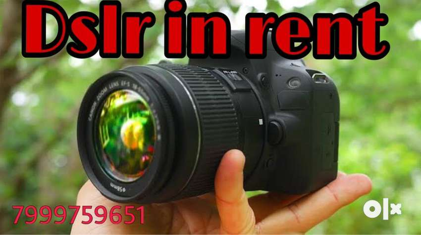 Dslr on rent 0