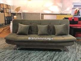 custom Sofa pillowtop kain halus