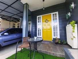 Rumah minimalis lengkap dengan perabot