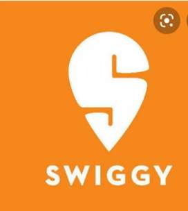 Hiring delivery boy's in swiggy