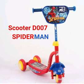 scooter d007 spiderman