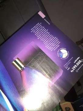 Parfum oriflame, baru buka dus. Murah aja.