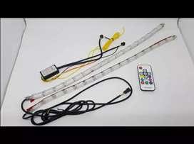 Lampu LED DRL Crystal RGB 50 Cm Super Bright