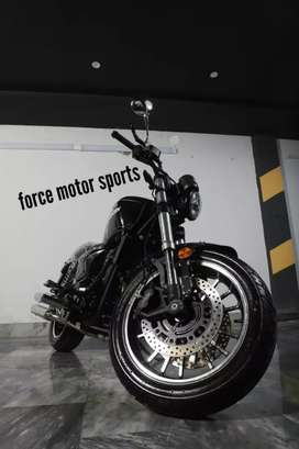 Force motor sports brings brand new zero meter chooper 400cc