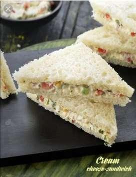 Panipuri  & sandwich karigar