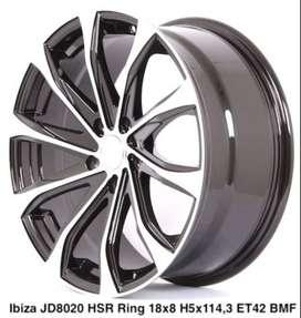 Jual Velg Racing HSR Ibiza R18 Untuk Mobil Toyota Rush