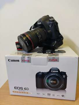Selling dslr full set of camera  Canon eos 6d with 24-105  f4
