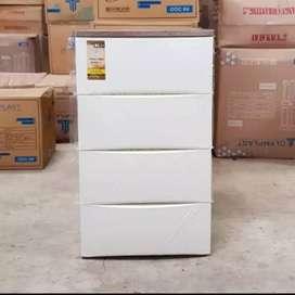 ODC 02  lemari kabinet drawer 2 susun dan 4 susun putih