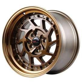 Velg hsr wheel celong ring 15 Lebar 8/9 | Avanza jazz xenia mobilio