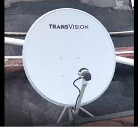 Pasang murah Transvision HD Pelalawan paket spesial free instalasi