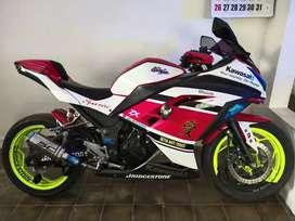 Kawasaki Ninja 250 fi, KM Rendah Karena Motor Hobby (Non Harian)