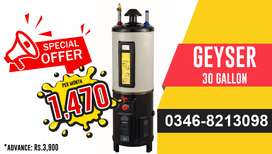Geyser Electric & Gas On Easy Installment in Karachi