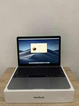 """Macbook 12"""" 2017 (mulus like new) space grey"""