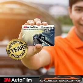 Kaca Film 3M Black Beauty Ori 100% | E-Warranty Resmi | Mobil & Gedung