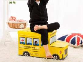 Storage BUS Kotak peyimpanan mainan toys - RED