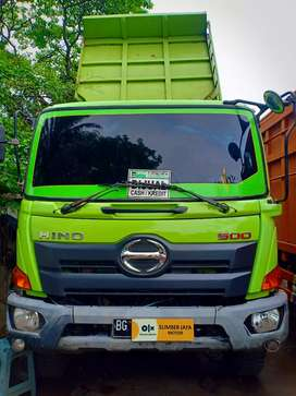 Dp 146 jt - Hino 500 jember FM 260 JD Dump tronton 2015