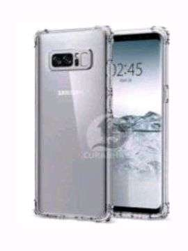 Case Samsung Galaxy Note 8 Fuze Mika Anti Crack Clear Bening New