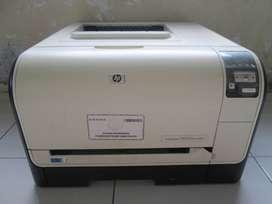 Printer Laser Warna Hp Color Laserjet CP1525N  Toner Full