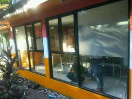 Kusen jendela dan kaca mati
