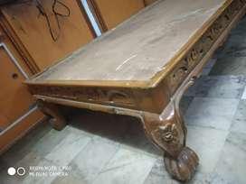 Take wood Diwan Cot