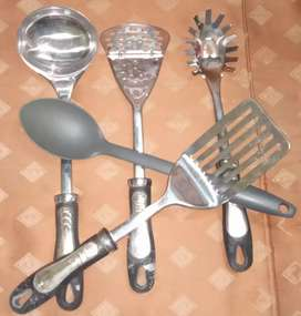 5 Cooking spoon set for multi purpose