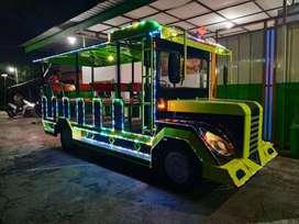 RAA Kereta mini wisata odong Pancingan elektrik bebek
