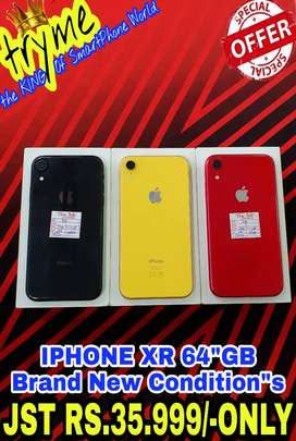 """TRYME IPHONE XR All Colour Available fUl Kit Box Fresh Condition""""s"""