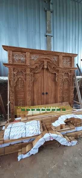 cuci gudang pintu gebyok gapuro jendela rumah masjid musholla baidi