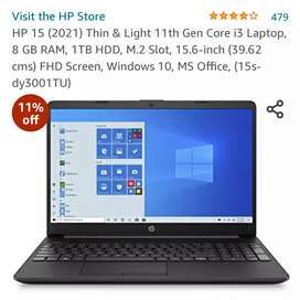 HP New Laptop for Work From Home (Coding & AutoCAD is also supported)
