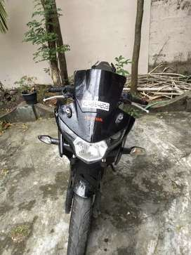 Cbr 150r full black repainted