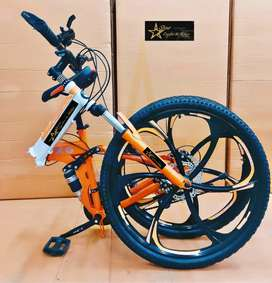 Brand New Foldable Bicycles With 21 Speed Gears