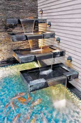 Jasa pembuatan kolam minimalis,renovasi,kolam ikan koi