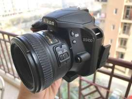 Nikon D3400 with 18-55 mm