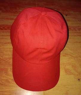 Topi polos perempuan/laki laki