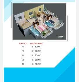 2bhk flat at prabhunagar