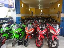 Ada lagi jual Kawasaki Ninja 250cc melayani kredit