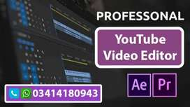 We Are Professional Youtube Video Editor & Thumbnail Designer