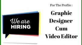 Video Graphic Designer Required