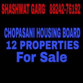 Chopasani Housing board (5 Properties for sale) Details below