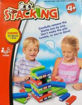 Mainan Edukasi Block Stacking Uno Stacko