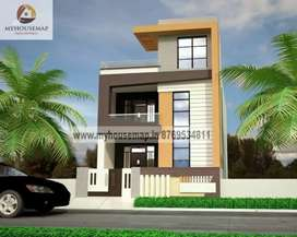 Make duplex in ur own plot near NH2