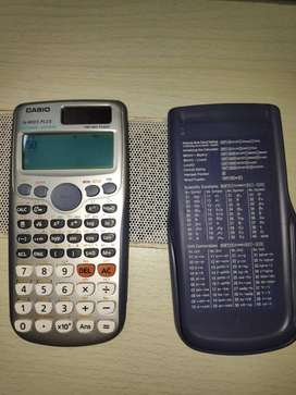 Casio scientific calculator, Only 6 months used, very good condition